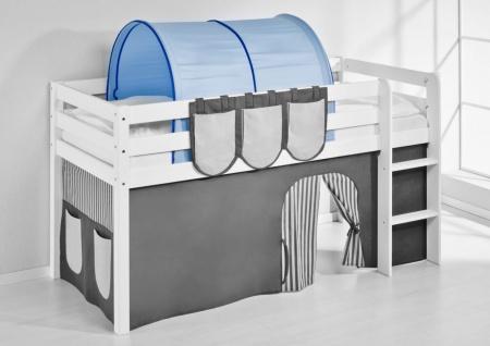 Tunnel Blau - für Hochbett. Spielbett und Etagenbett