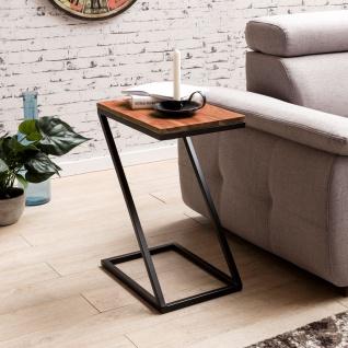 Beistelltisch Tisch URBAN 45x32 cm Sheesham Massivholz