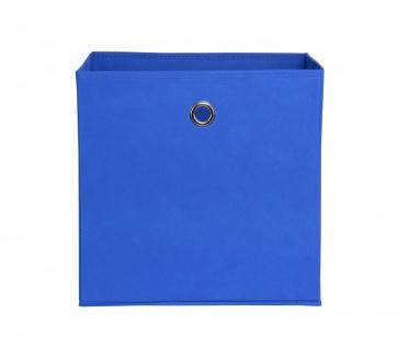 Faltbox Box Stoffbox- Delta - Größe: 32 x 32 cm - Blau - Vorschau 1