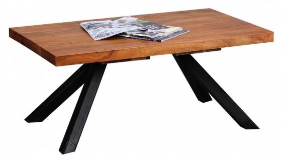 Couchtisch Massivholztisch BIMA 90x55x39 cm Holz Sheesham