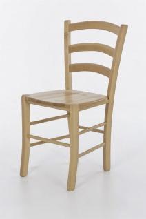 Esszimmerstühle - ALEX - Stuhle 2er Set Massivholz Kernbuche Natur