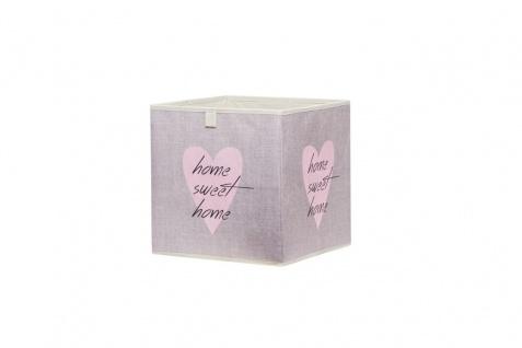 Faltbox Box - Delta -32 x 32 cm / 3er Set - Heart