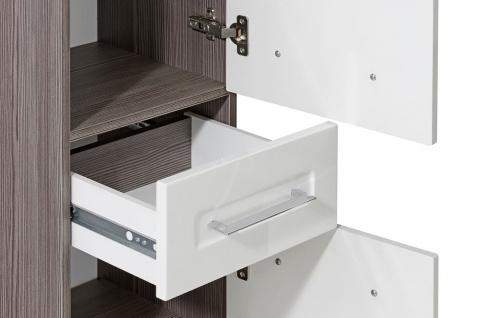 Badmöbel Set 6-tlg Badezimmerset COSM Hochglanz inkl.Waschtisch 60 cm - Vorschau 4