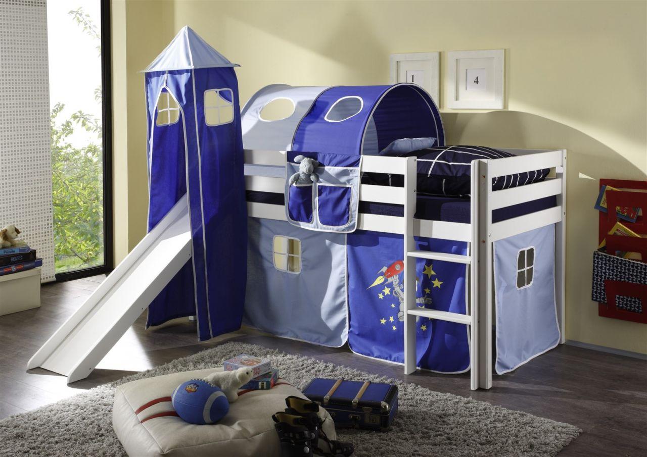 Etagenbett Set : Stoff set 4.tlg astronaut für spielbett hochbett etagenbett kaufen