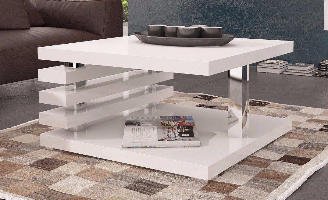 couchtisch wohnzimmertisch andrea 60x60 cm hochglanz weiss kaufen bei sylwia lesniewska fun. Black Bedroom Furniture Sets. Home Design Ideas