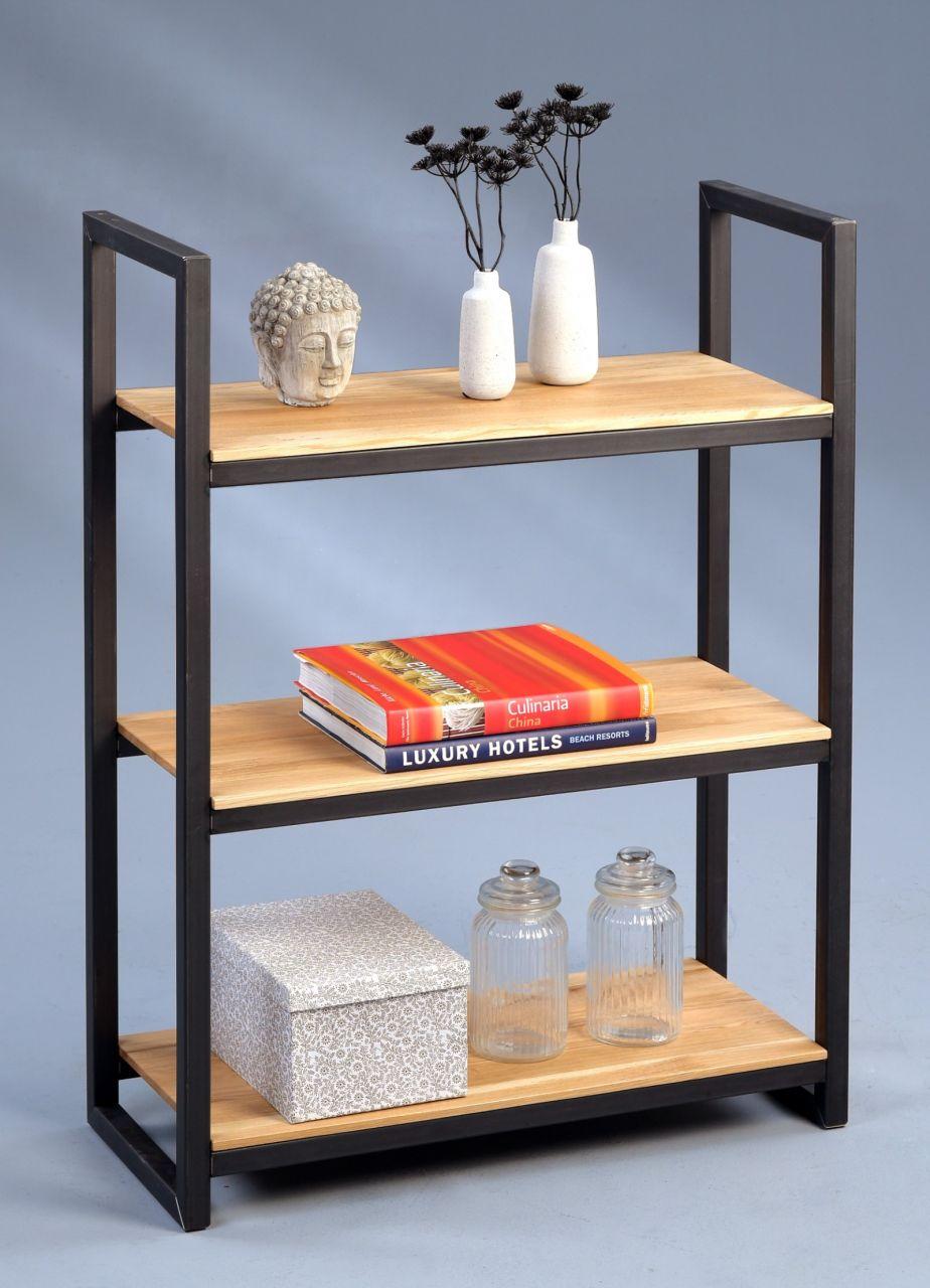 Regal Bücherregal - Gino - 110 x 80 cm - Eiche massiv - Kaufen bei ...