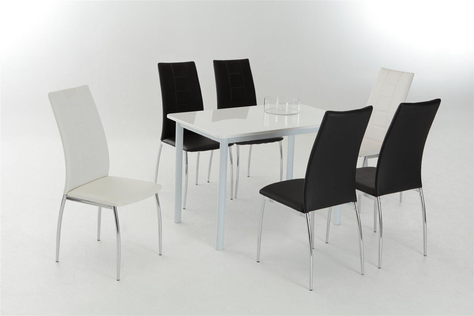 esstisch 110x70 interesting esstisch mit sthle von maco esstisch x cm amazonde kche u haushalt. Black Bedroom Furniture Sets. Home Design Ideas