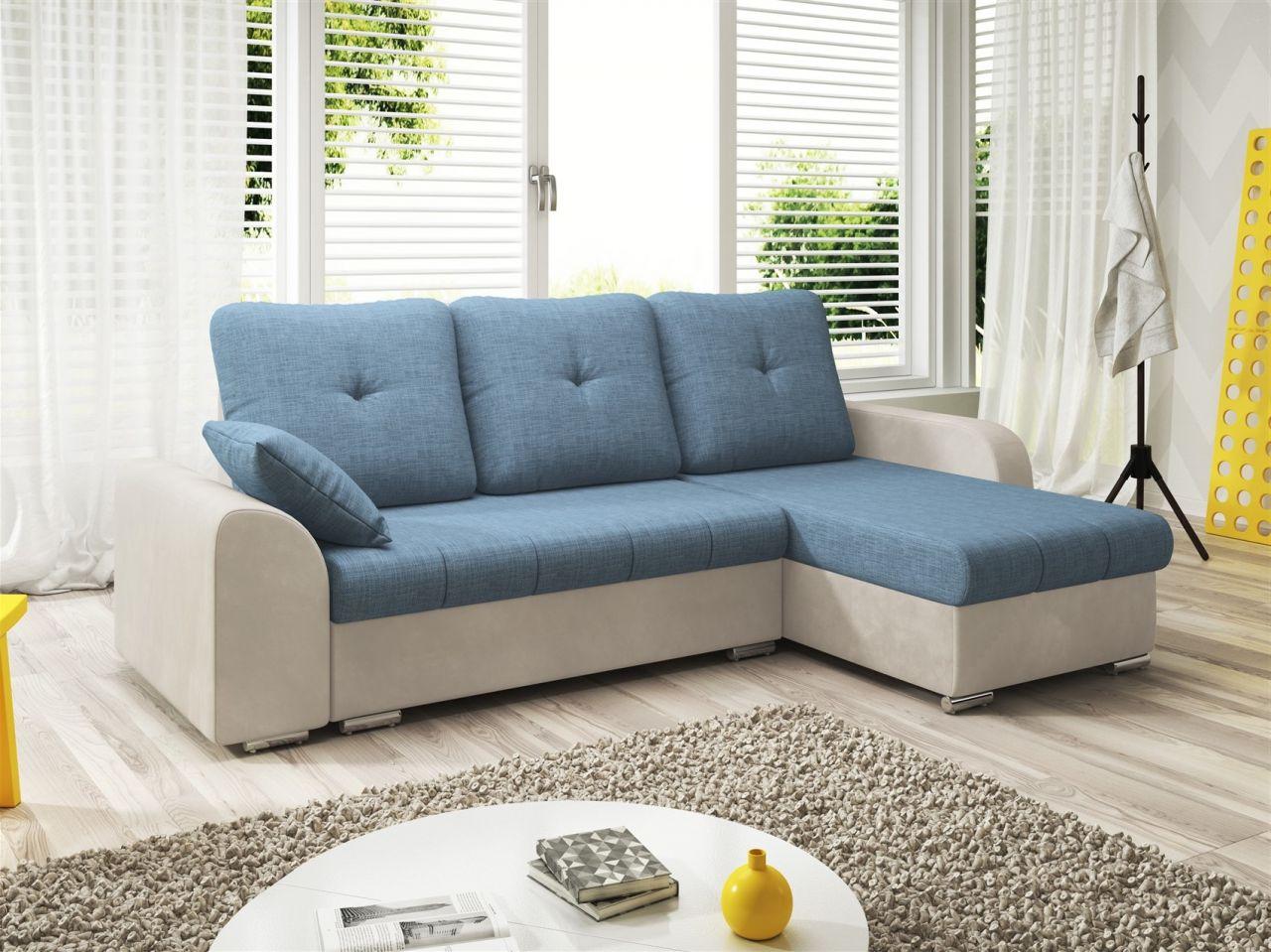 Bezaubernd Couch Hellblau Referenz Von Ecksofa Sofa Dekos Mit Schlaffunktion Weiss /