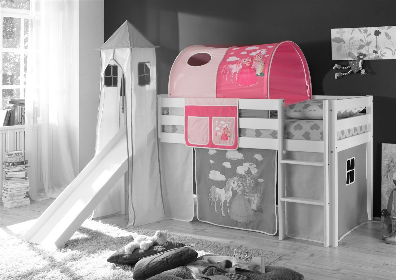 Etagenbett Pink : Tunnel prinzessin pink für spielbett hochbett etagenbett tasche