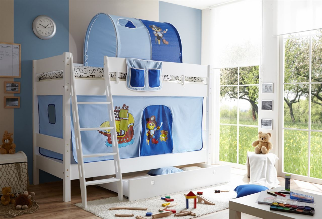 Vorhang Für Etagenbett : Vorhang hochbett selber nähen frisch für dein