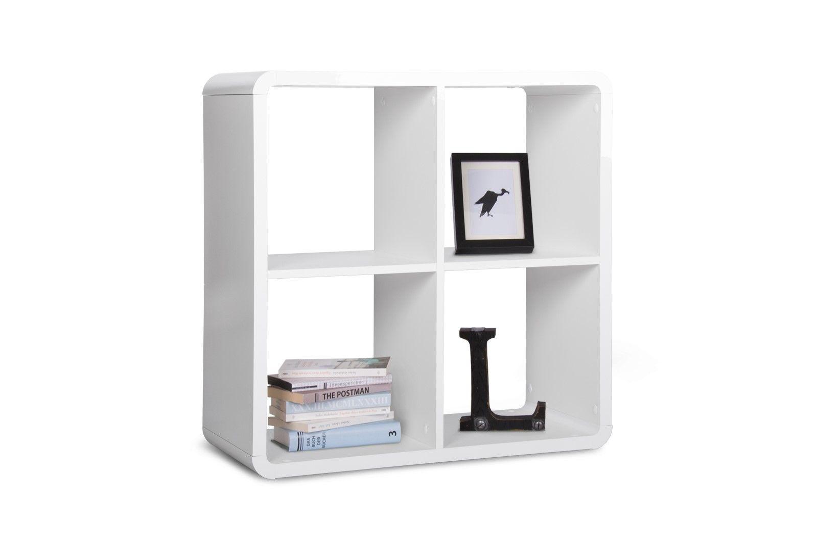 bcherregal weiss hochglanz komplett regal wei hochglanz regal wandregal bcherregal schmal. Black Bedroom Furniture Sets. Home Design Ideas