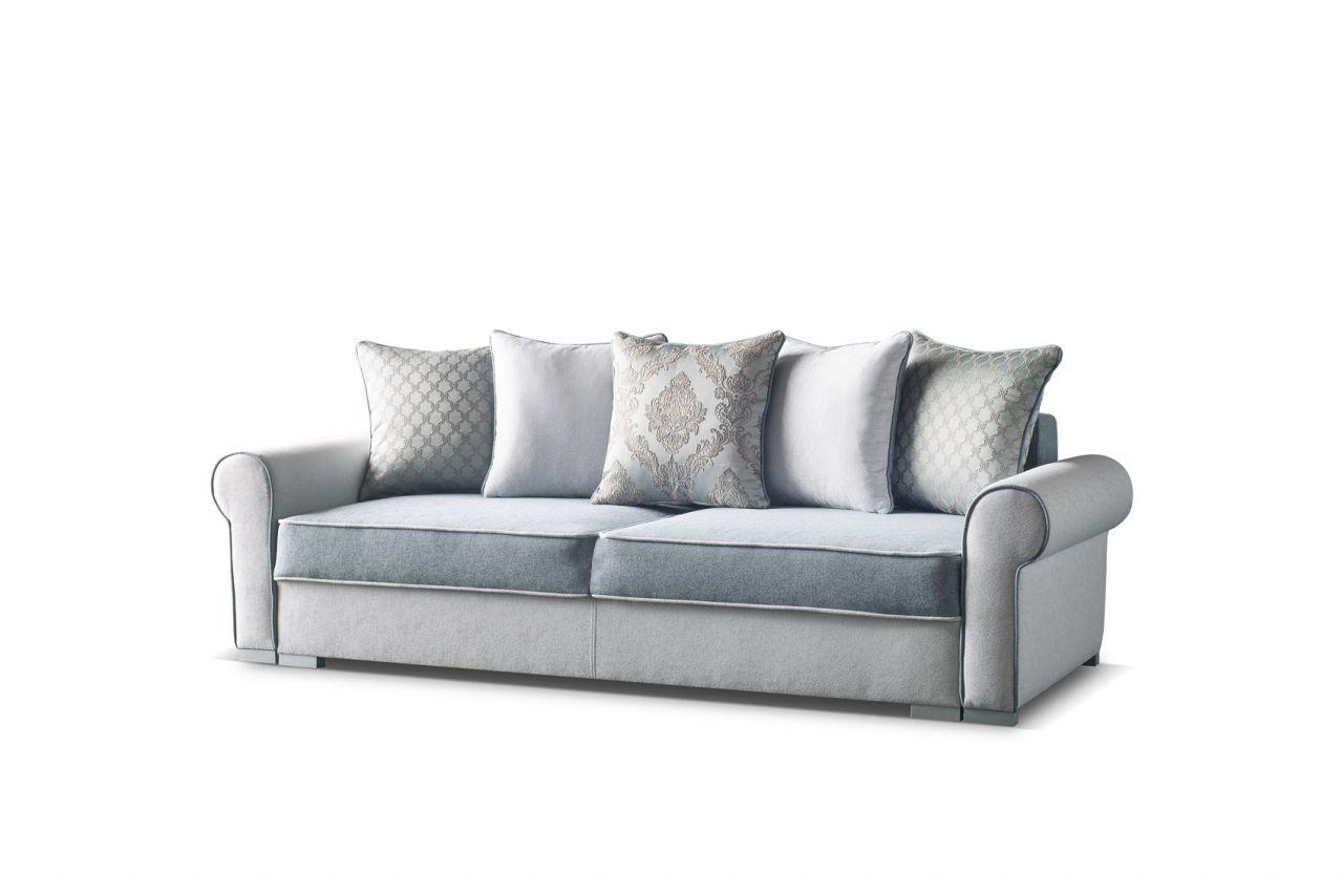 Polstersofa Sofa 3 Sitzer DENISE mit Schlaffunktion
