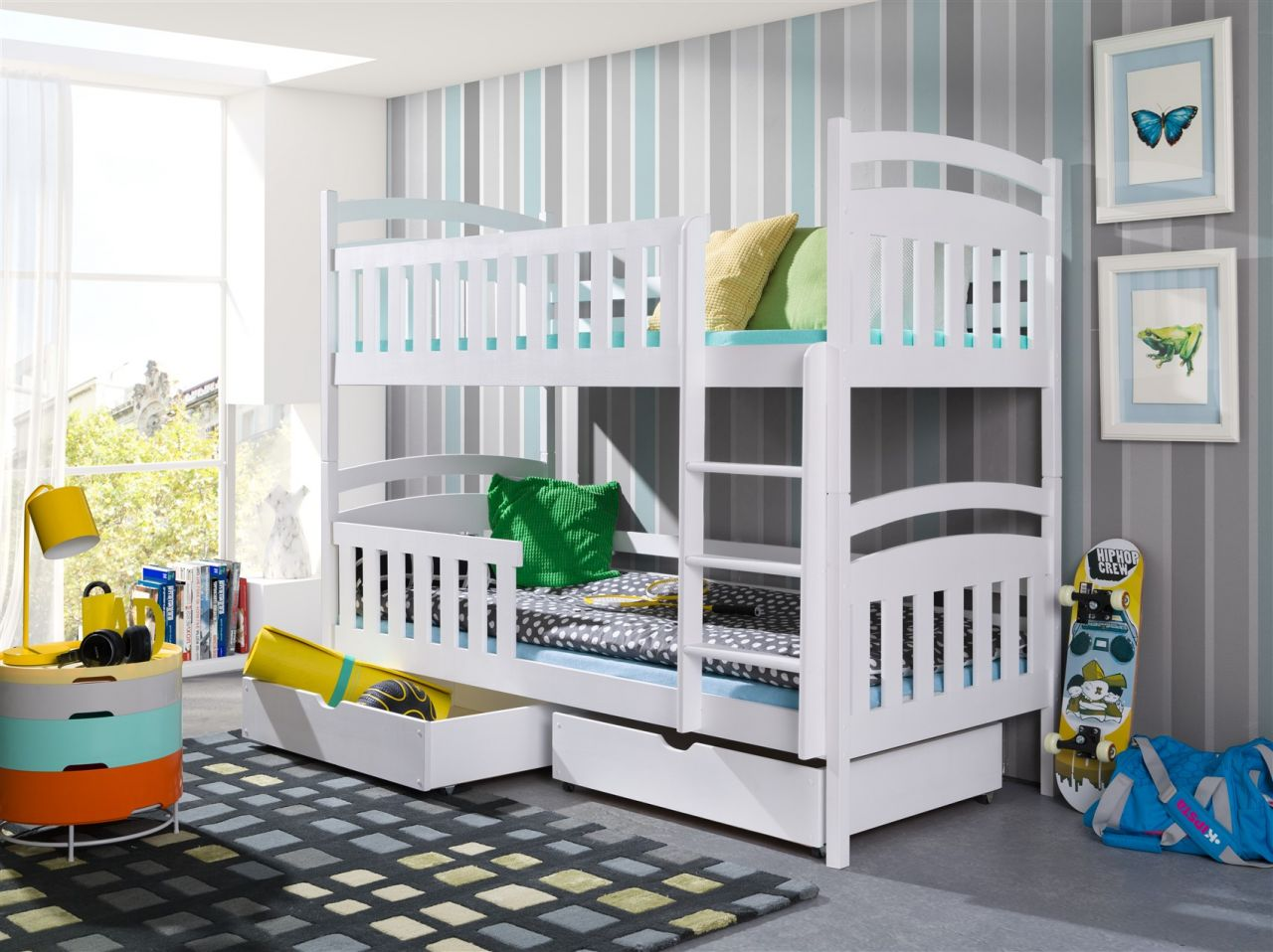 Etagenbett Liegefläche 80 180 : Flexa betten etagenbett kinderbett plattformbett und