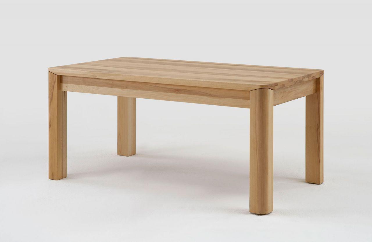 Esstisch Tisch Mit Gestellauszug Oland 140 220 X 80 Cm Buche Massiv
