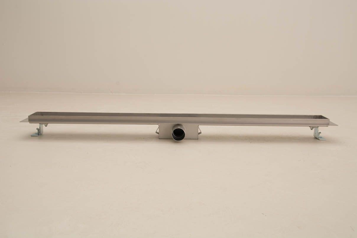 duschrinne dusch badablauf bodenablaufrinne nr.2 - 80 cm/ edelstahl