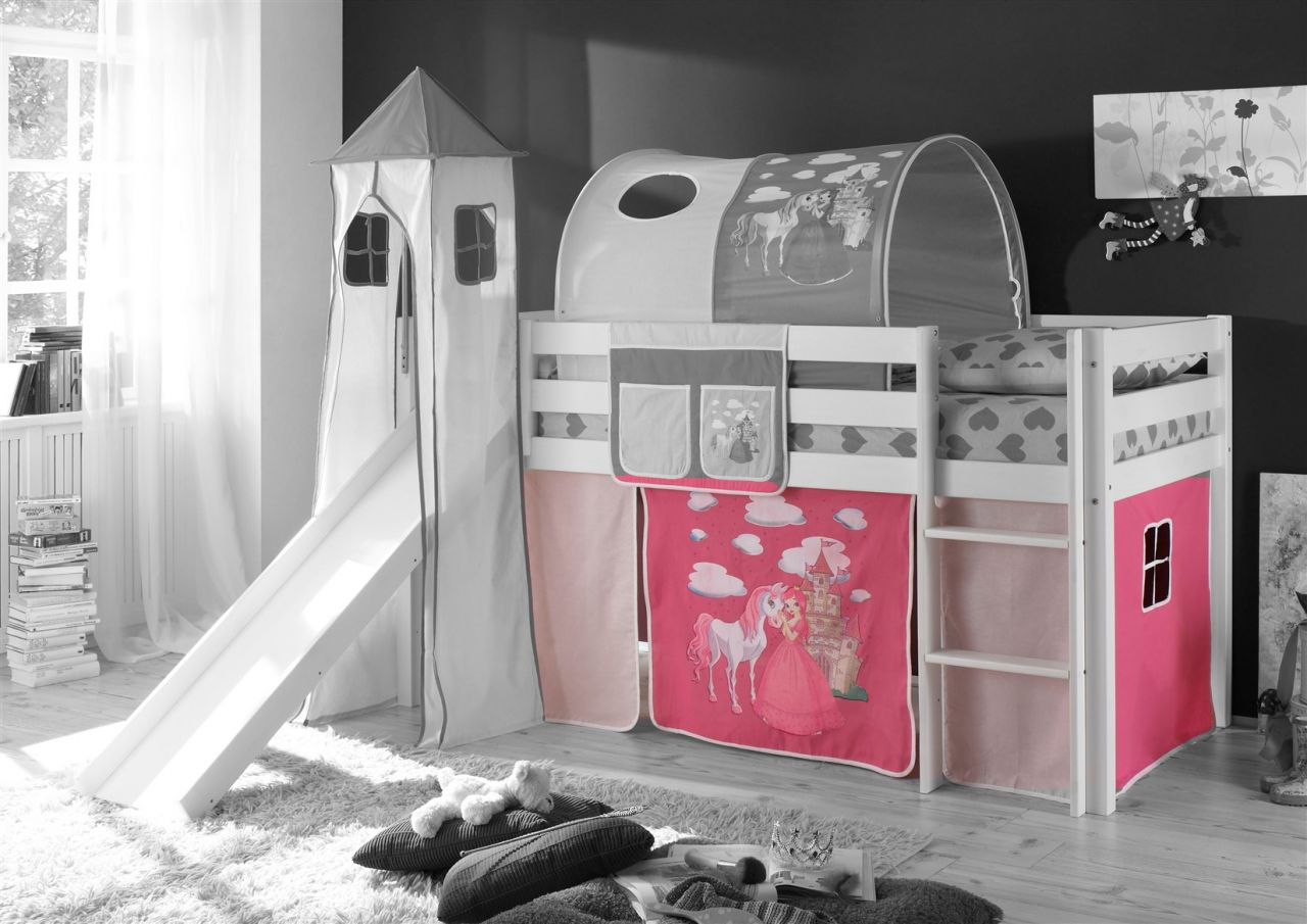 Hochbett Etagenbett Umbaubar : Einnehmend kinderbett hoch hochbett samuel kinderbetten hochwertig