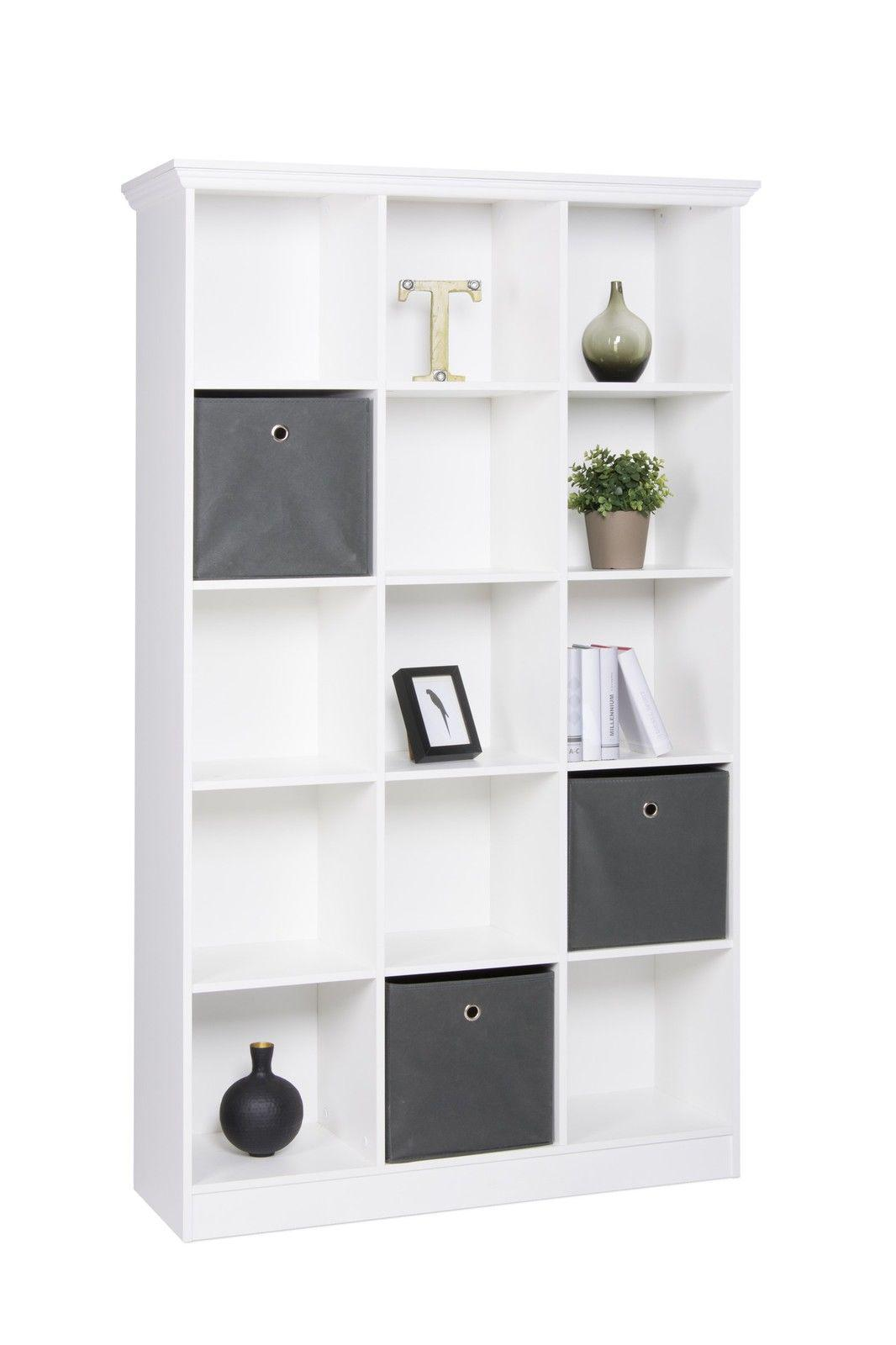 "regal garderobe "" home"" 110x185x38 cm in weiss landhausstil - kaufen"