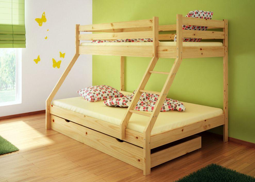 Zwei Etagenbett : Die perfekte lösung fürs kinderzimmer etagenbett l form infanskids