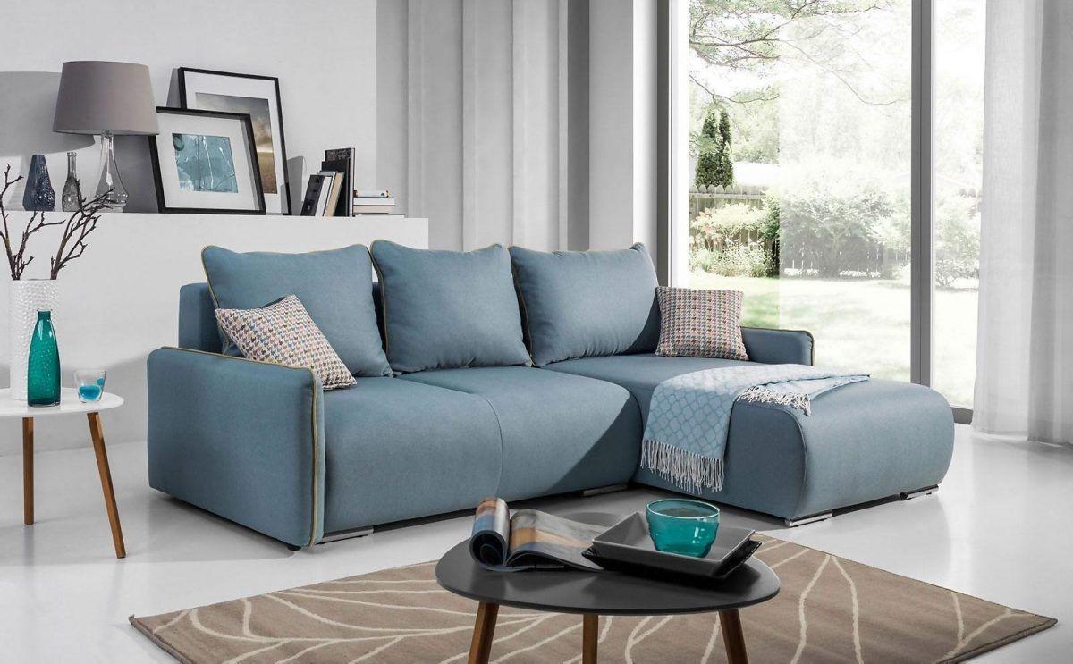 Schön Couch Hellblau Ideen Von Ecksofa Schlafsofa Play Ottomane Rechts 1