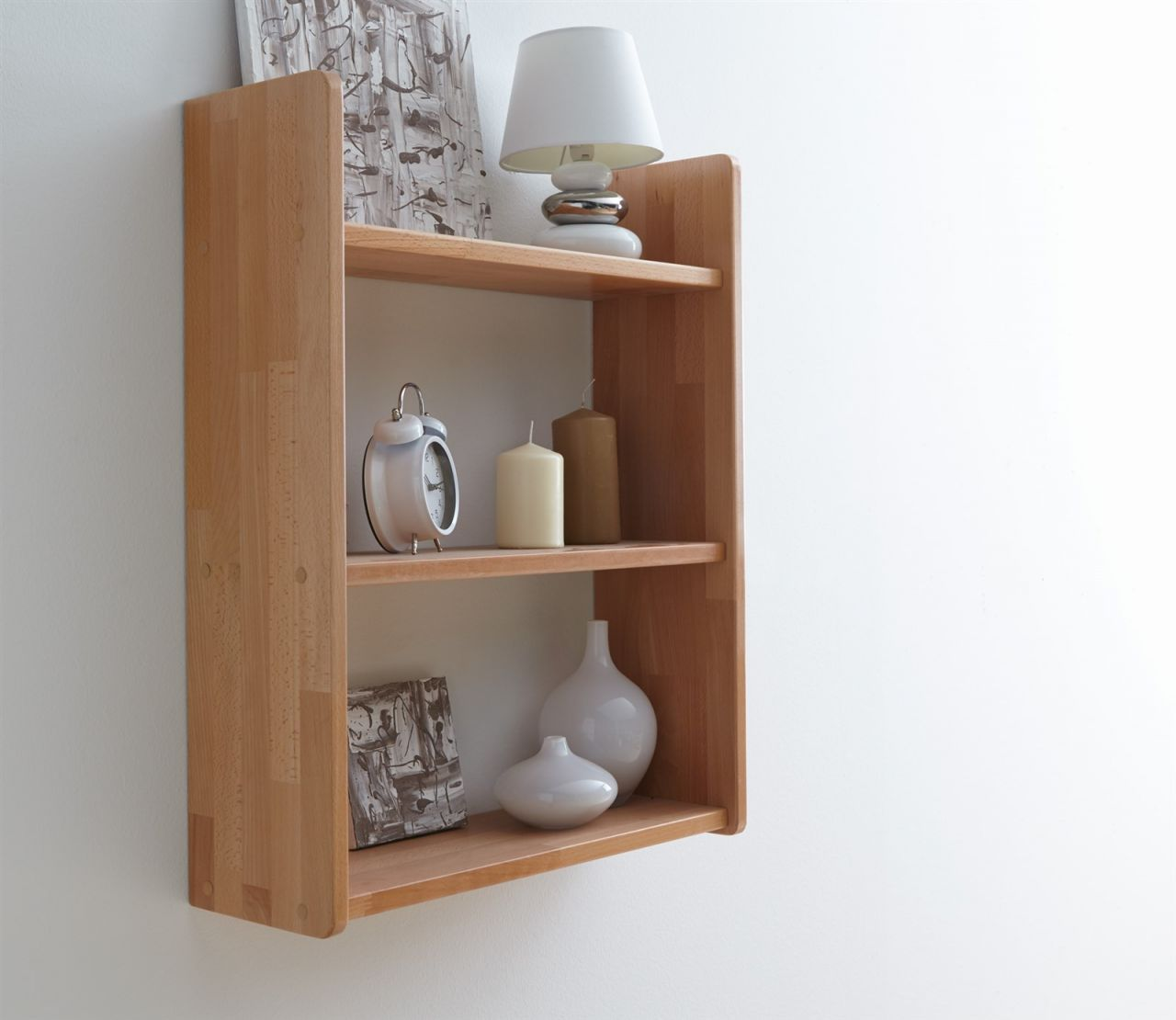 wandregal b cherregal awel nr 3 60x74 cm buche massiv ge lt kaufen bei sylwia lesniewska. Black Bedroom Furniture Sets. Home Design Ideas