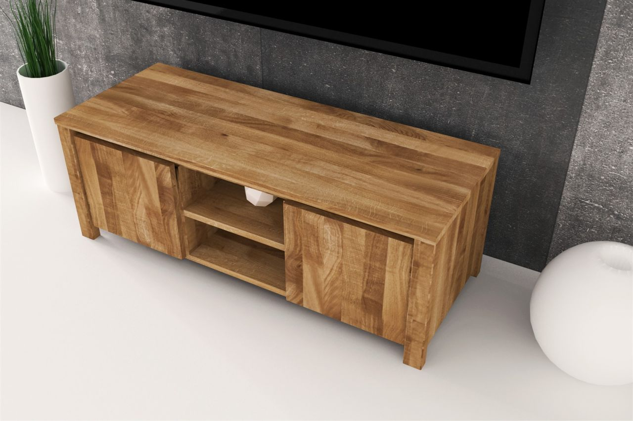 lowboard tv schrank maison buche massiv 115x43x45 cm. Black Bedroom Furniture Sets. Home Design Ideas
