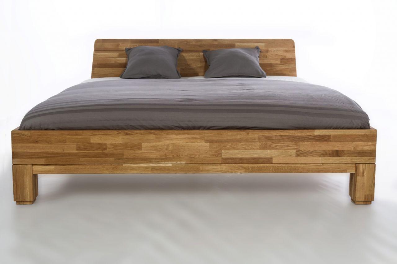 Massivholzbett Schlafzimmerbett Ivo Bett Wildeiche 180x200 Cm