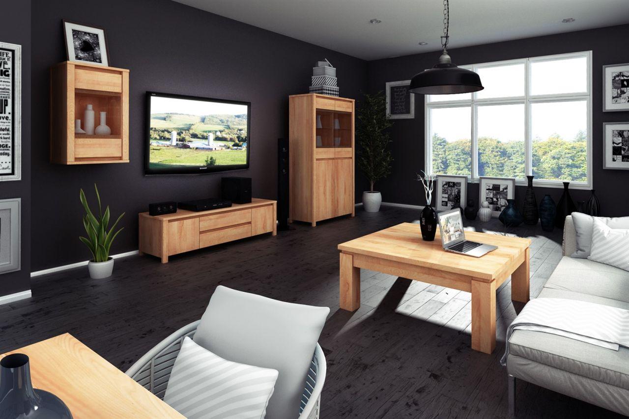couchtisch beistelltisch maison kernbuche massiv ge lt 60x60 cm kaufen bei sylwia lesniewska. Black Bedroom Furniture Sets. Home Design Ideas