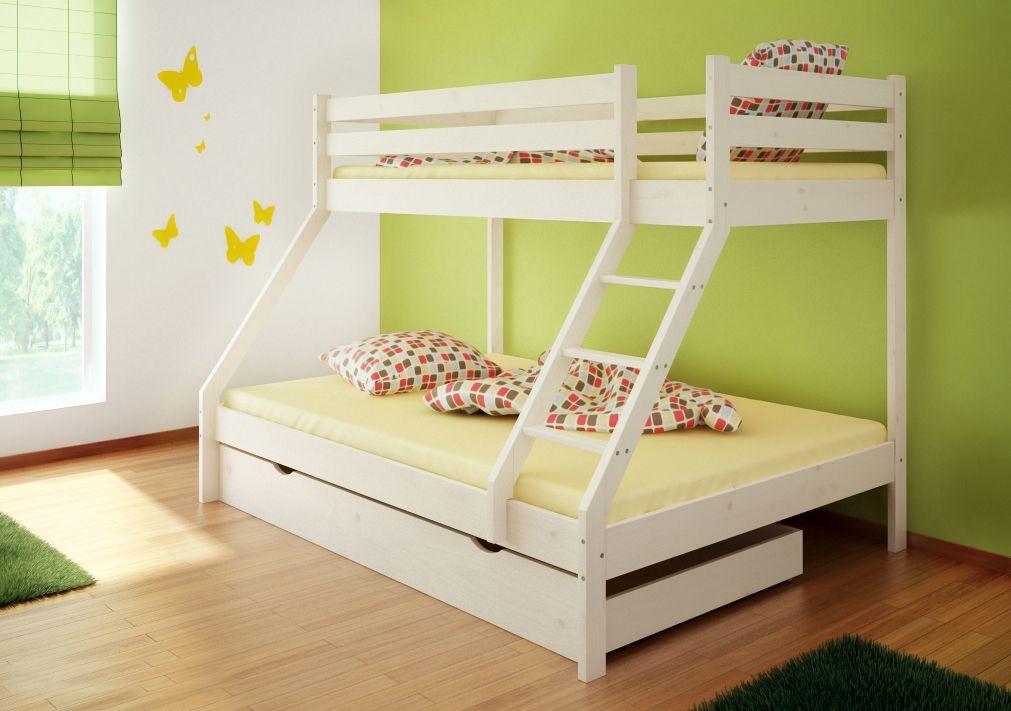 Etagenbett Für Zwei : Herrliches kinderzimmer design für zwei und mehr kinder