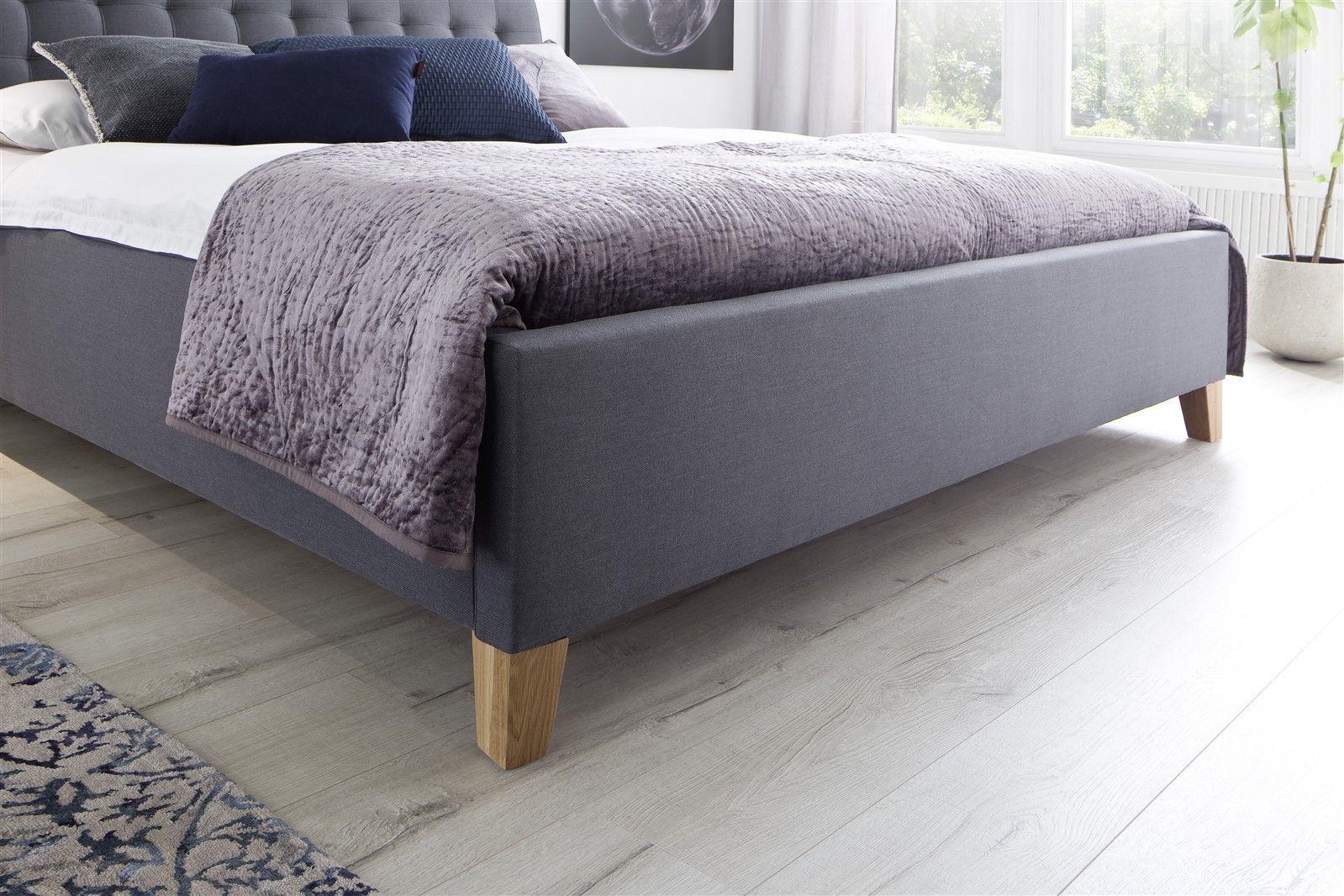 bett grau 180x200 bett chelsea grau 180x200 cm ebay bett. Black Bedroom Furniture Sets. Home Design Ideas