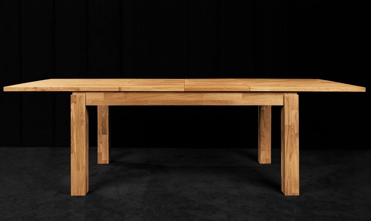 esstisch tisch ausziehbar maison buche massiv 200 290x90 cm kaufen bei sylwia lesniewska fun. Black Bedroom Furniture Sets. Home Design Ideas