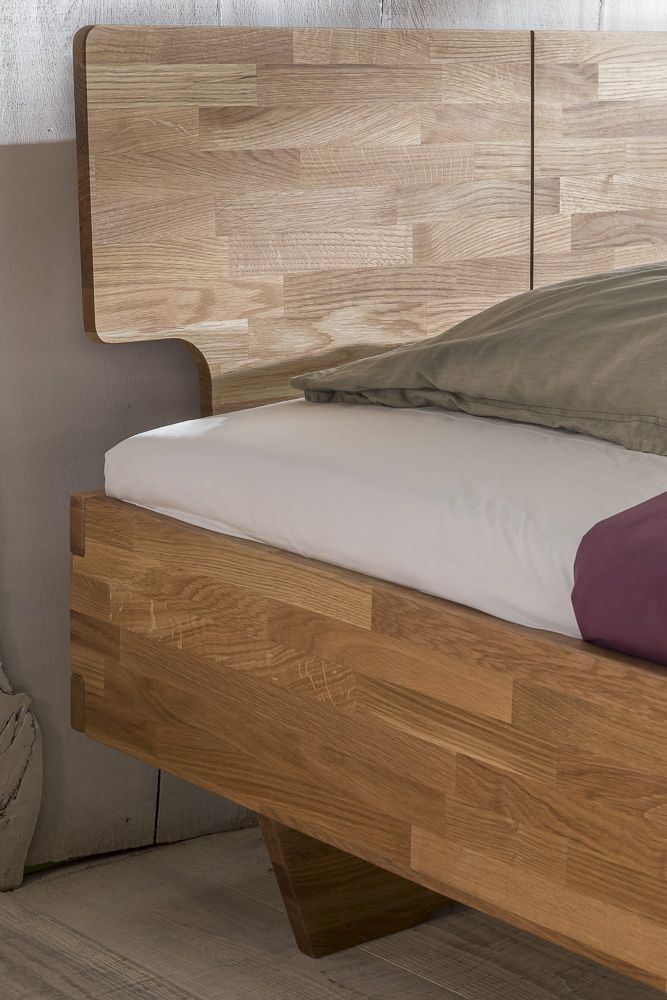 Massivholzbett Schlafzimmerbett Elo Bett Wildeiche 160x200 Cm