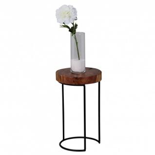 Beistelltisch Tisch BIMA 28x28x45 cm Sheesham Massivholz