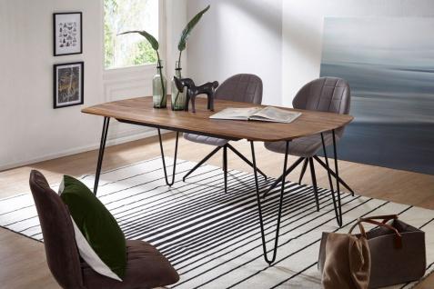 Esszimmertisch Tisch GANAN 180x90x76 cm Massivholz Sheesham