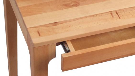 Schreibtisch Bürotisch Tisch - Kata - 110x55 mm - Kernbuche massiv - Vorschau 3