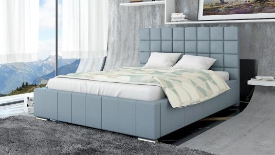 Polsterbett Bett Doppelbett MATTEO 180x200cm inkl.Bettkasten