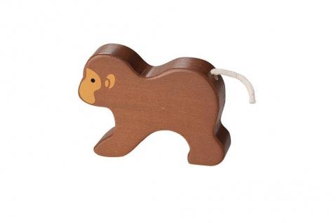 Holzspielzeug - Bambus Affe