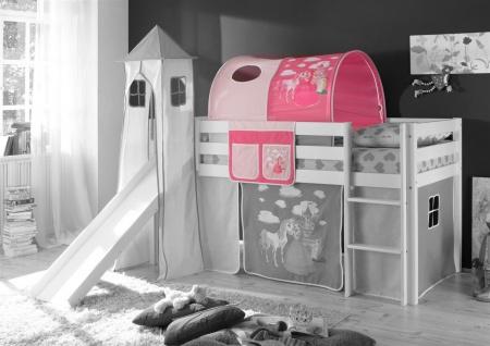 Tunnel PRINZESSIN /PINK für Spielbett Hochbett Etagenbett +Tasche
