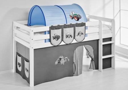 Tunnel Trecker Blau - für Hochbett. Spielbett und Etagenbett
