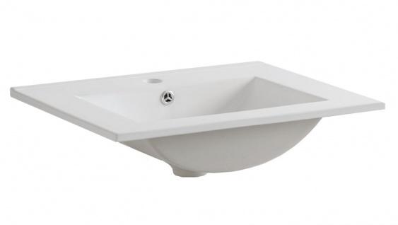 Badmöbel Set 6-tlg Badezimmerset COSM Hochglanz inkl.Waschtisch 60 cm - Vorschau 2