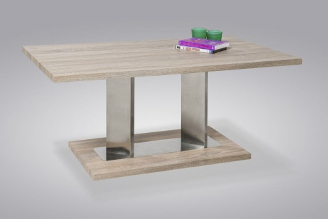 Couchtisch Tisch - NORIN -105 x 60 cm MDF Sonoma Eiche