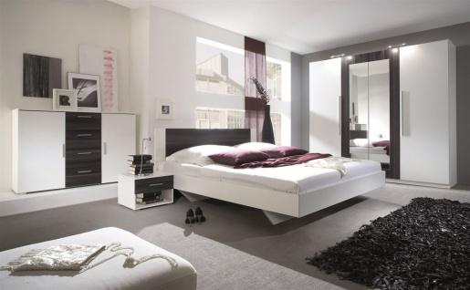 Schlafzimmer Set 5 tlg ONTARIO inkl.Doppelbett 160cm und Schrank 228cm