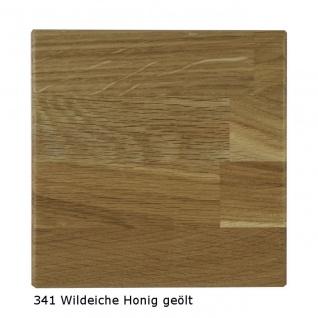 Couchtisch Tisch NIELS Wildeiche vollmassiv /Echtholz 110 x 70 cm - Vorschau 3