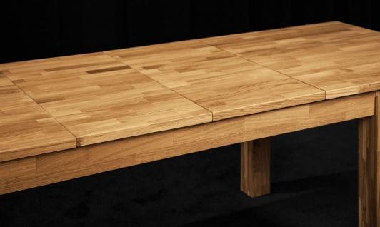 Esstisch Tisch ausziehbar MAISON Buche massiv 200/290x100 cm - Vorschau 5