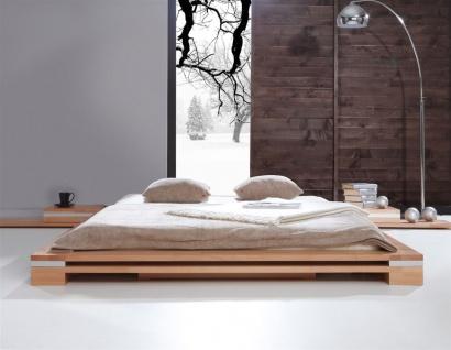 Massivholzbett Bett Schlafzimmerbett TOKYO Eiche massiv 180x200 cm - Vorschau 4