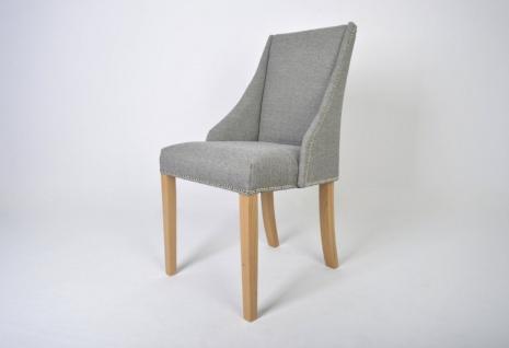 Polsterstuhl Stuhl 2er Set ORAN Massivholz Buche