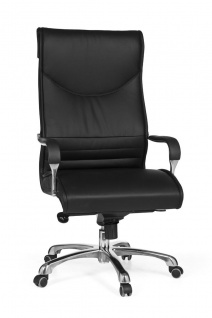 Drehstuhl Bürostuhl Chefsessel CALVIA -Schwarz