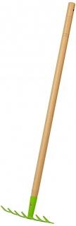 Holzspielzeug - Rechen
