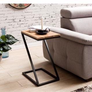 Beistelltisch Tisch URBAN 45x32 cm Akazie Massivholz