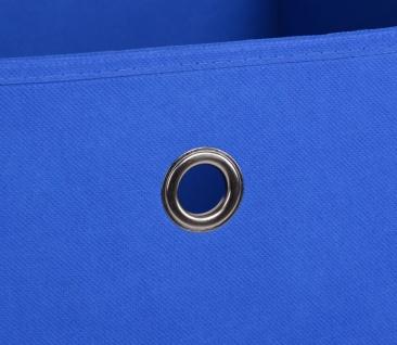 Faltbox Box Stoffbox- Delta - Größe: 32 x 32 cm - Blau - Vorschau 3
