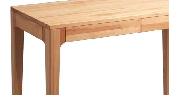 Schreibtisch Bürotisch Tisch - Kata - 110x55 mm - Kernbuche massiv - Vorschau 2